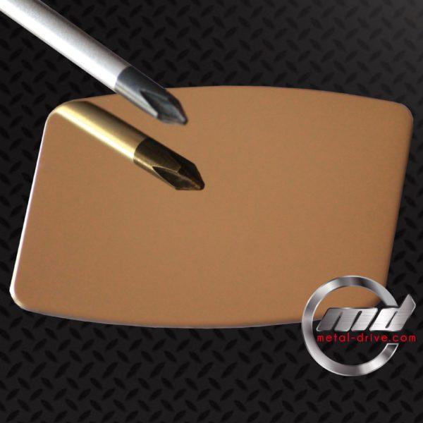 METAL DRIVE INOX 304L - Poli miroir OR