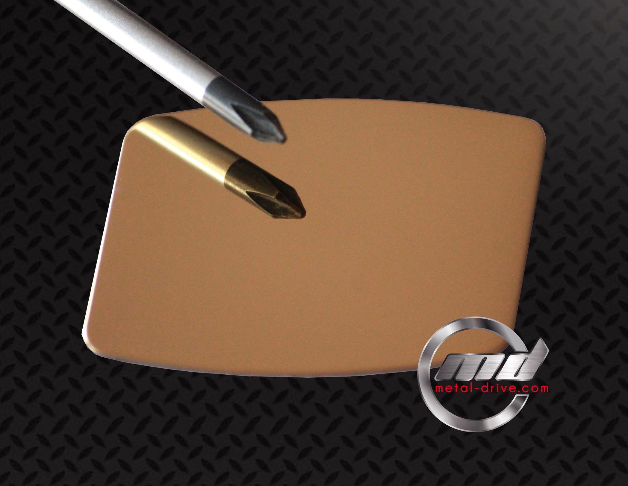 Inox 304l poli miroir or metal drive - Aluminium poli miroir ...