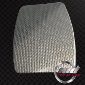 METAL DRIVE - INOX 304L UNO LUCIDO TOILE DE LIN