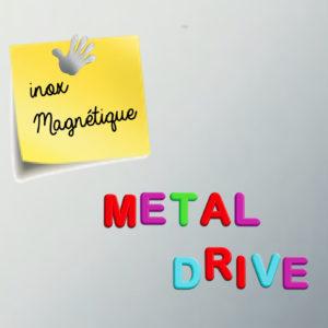 METAL DRIVE Crédence Magnétique Magnets